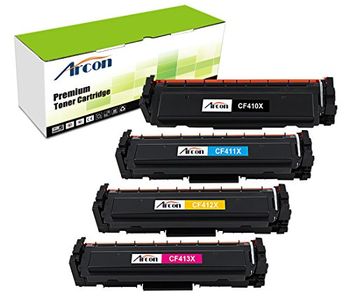 arcon-4pk-black-cyan-yellow-magenta-compatible-toner-cartridge-replacement-for-hp-cf410x-cf411x-cf41