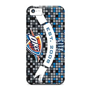 New Shockproof Protection Case Cover For Iphone 5c/ Oklahoma City Thunder Case Cover