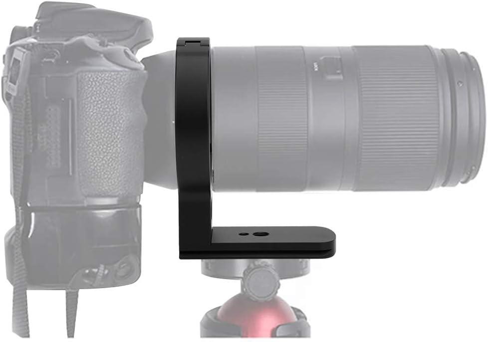 anillo adaptador de soporte de tr/ípode de lente de aleaci/ón con orificios de tornillo de 1//4 y 3//8 pulgadas p Anillo de montaje de tr/ípode de lente de c/ámara para Tamron 100-400 mm f4.5-6.3 Di VC USD
