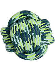 HOUZE OPT-154 Pet Toys Knotted Ball, Large, Blue