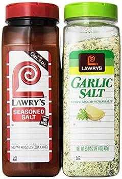 Lawry's Seasoned Salt and Garlic Salt Bundle