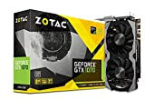 ZOTAC GeForce GTX 1070 Mini 8GB GDDR5 VR Ready Super Compact Gaming Graphics Card (ZT-P10700G-10M),Black