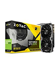 ZOTAC GeForce GTX 1070 Mini 8GB GDDR5 VR Ready Super Compact ...
