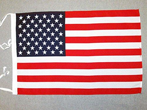 DRAPEAU ETATS-UNIS 45x30cm - PAVILLON AMÉRICAIN - USA 30 x 45 cm haute qualité - AZ FLAG
