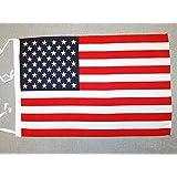 AZ FLAG Bandera de los Estados Unidos 45x30cm - BANDERINA Americana - USA - EE.UU 30 x 45 cm cordeles