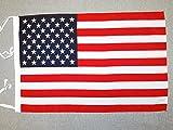United States Flag 18'' x 12'' Cords - USA - US - American