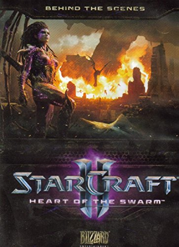 Starcraft 2 Heart Of The Swarm Behind The Scenes Blu-Ray plus DVD (Starcraft Ii Heart Of The Swarm Collectors Edition)