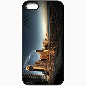 Protective Case Back Cover For iPhone 5 5S Case Chicago Black