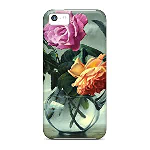 Fashion AhRYvIl5720inffB Case Cover For Iphone 5c(flower Artwork) by icecream design