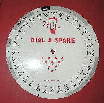 Dial-A-Spare Bowling Wheel for Right Handed Bowlers