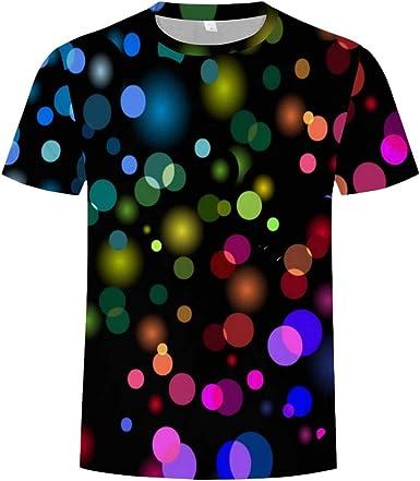 Sylar Camisetas Hombre Manga Corta Camisetas Hombre Originales Personalidad Casual Camisas Camisetas Hombre Cuello Redondo Estampado De Puntos: Amazon.es: Ropa y accesorios