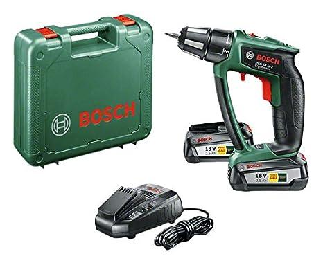 Bosch 0 603 9B0 101 Atornillador con batería de litio 45 W, 18 V, Negro, Verde, Rojo No percutor