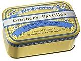 GRETHERS PASTILLES BLACK CURRANT REGULAR 15 oz
