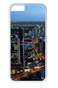 Australia melbourne cityscapes Custom iPhone 6 Case Cover Polycarbonate White