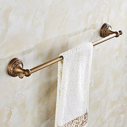 HOMEE Full Copper Towel Bar Toilet Bathroom Shelf by HOMEE