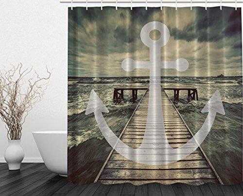Better-Curtains-Nautical-Anchor-Ocean-Waves-3D-Print-Polyester-Shower-Curtain-69x70-Inch