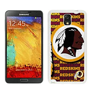 DIY Custom Phone Case For Samsung Note3 Washington Redskins 25 White Phone Case For Samsung Galaxy Note 3 N900A N900V N900P N900T
