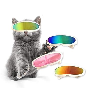 QNMM Tendencia Creativa anteojos para Mascotas Gato Gafas de ...