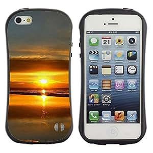 Suave TPU GEL Carcasa Funda Silicona Blando Estuche Caso de protección (para) Apple Iphone 5 / 5S / CECELL Phone case / / Sunset Beautiful Nature 99 /