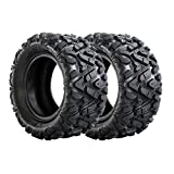 AR DONGFANG Pair of ATV Tires 19x7-8 Quad UTV Go Kart Tires ATV Tire 4PLY Tubeless 2PCS