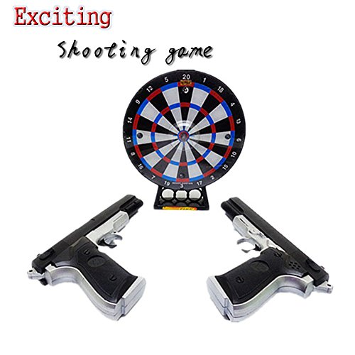 Shooting Wheel Target Game / Induction Flash Music Toy / Christmas Gift/ Birthday Present/ Boy War Game