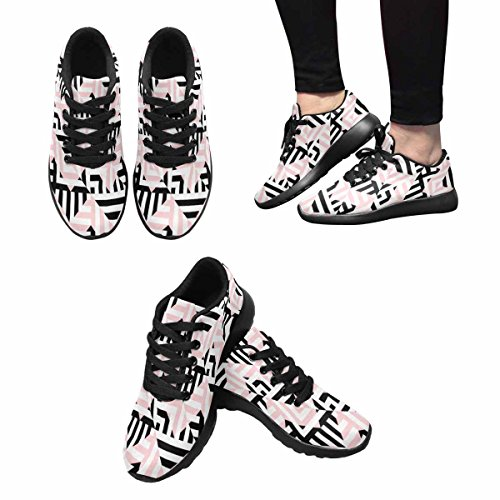 InterestPrint Womens Jogging Running Sneaker Lightweight Go Easy Walking Comfort Sports Running Shoes Multi 11 QM404nz7Rz