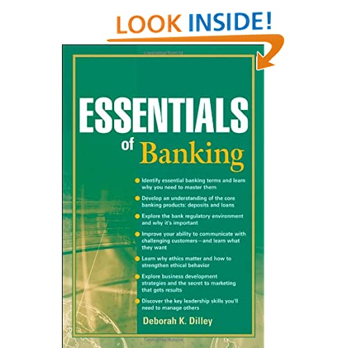 Essentials of Banking Deborah K. Dilley