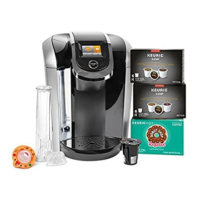 Keurig 2.0 K425S Coffee Maker Brewer & 24 K-Cups w/ My K-cup Reusable Filter ;#G344T3486G 34BG82G7525