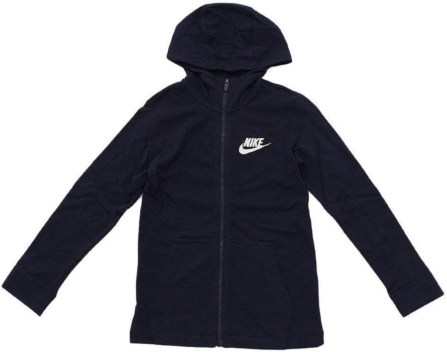 c3f2857b84c3 Nike Big Kids  (Boys ) Full Zip Sportswear Hoodie Navy AA6628 451 (. Back