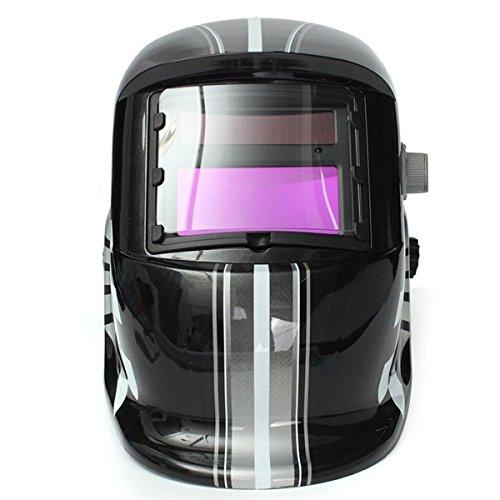 Price comparison product image Racing Track Auto-Darkening Welding Helmet Solar Welder Mask Electrowelding