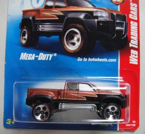 Mega Duty Web Trading Cars   Hot Wheels