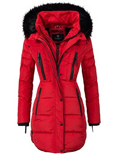 Marikoo Moonshine Manteau d'hiver pour Femme matelass