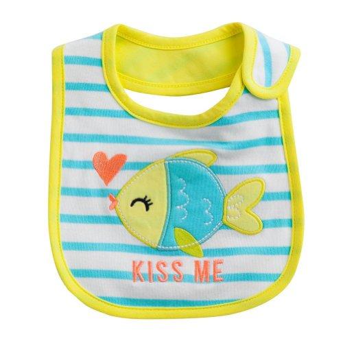 Carters Baby Fish Stripe KISS