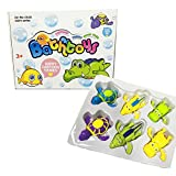 Best Baby Einstein Baby Tub Toys - JollySweets 6PCS Display Box Packed Wind Up Swimming Review