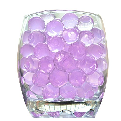ECYC 5000pcs Hydrogel Bead Pink Water Pearls Shape Jelly Vase Filler Beads