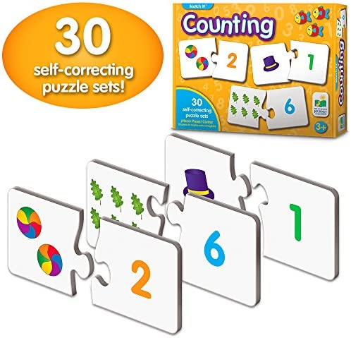 [해외]The Learning Journey: Match It - Counting - Self-Correcting Number & Learn to Count Puzzle / The Learning Journey: Match It - Counting - Self-Correcting Number & Learn to Count Puzzle