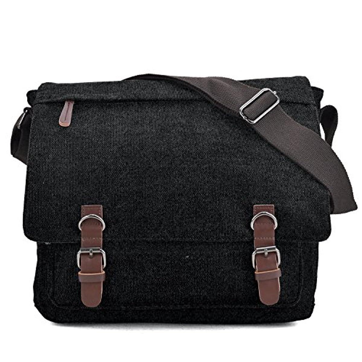 08d0a3e5cba7 Details about Large Vintage Canvas Messenger Shoulder Bag Causal Crossbody  Bookbag Computer La