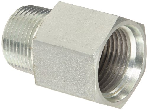 Thread O-ring (Eaton Aeroquip 2246-12-12S Steel Pipe Fitting, Adapter, 3/4