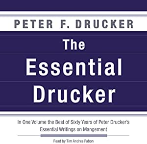 The Essential Drucker | Livre audio