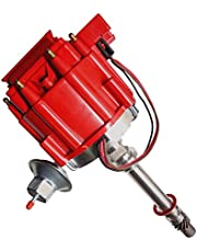 Racing V8 HEI Distributor w/ 65K Coil 7500RPM - Compatible With Chevy 350 454 SBC BBC GM08