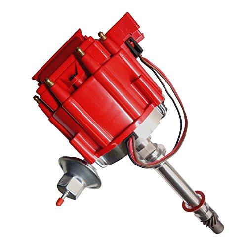 - Racing Chevy V8 HEI Distributor w/65K Coil 7500RPM - 350 454 SBC BBC GM08