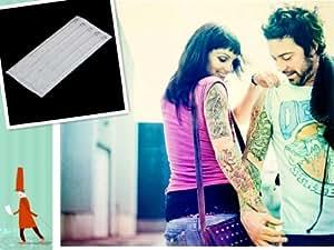 5 x Agujas de Tatuaje 3RL Desechable para Tatuar Acero Inoxidable