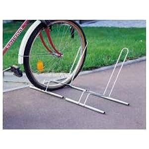 Mottez soporte para bicicletas sobre suelo for Soporte para bicicletas suelo