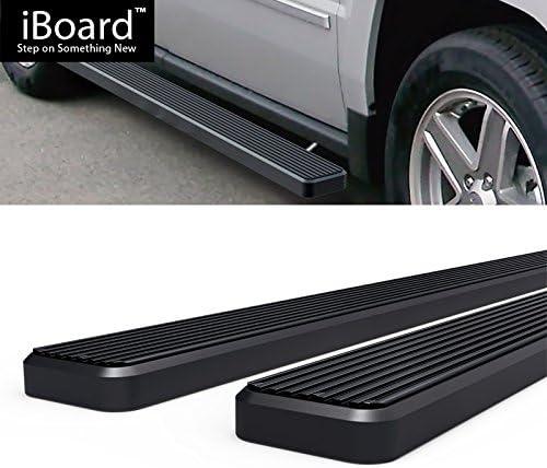 Nerf Bar   Side Steps   Side Bars Off Roader Eboard Running Board 4 Black Fits 2007-2017 Jeep Patriot Sport Utility 4-Door