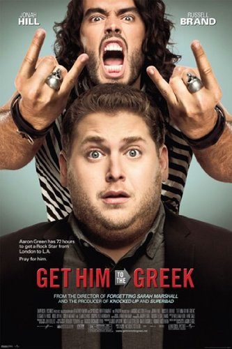 Get Him to the Greek - One Sheet Poster Print