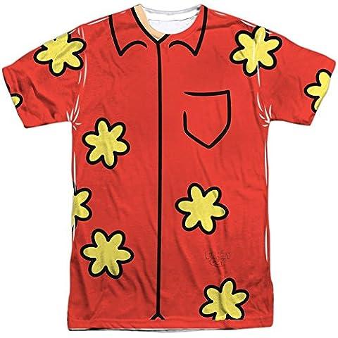 Family Guy Quagmire Adult Sublimation Costume T-Shirt (Glenn Quagmire Kostüm)