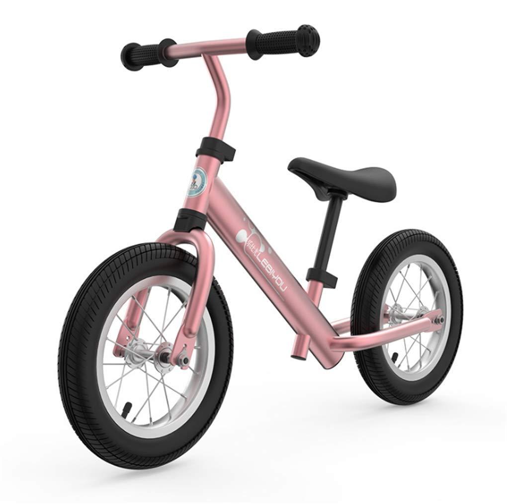 CZALBL Bicicleta de Equilibrio para 2, 3, 4, 5, niños y niñas de 6 años, Cuadro de Aluminio sin Entrenamiento de Equilibrio del Pedal, Adecuado para niños pequeños,G
