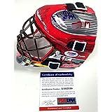 Petr Mrazek Signed Detroit Red Wings Mini Replica Goalie Mask Coa - PSA/DNA Certified
