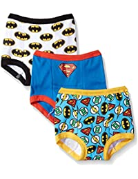 Toddler Boys' Justice League 3 Pack Training Pant