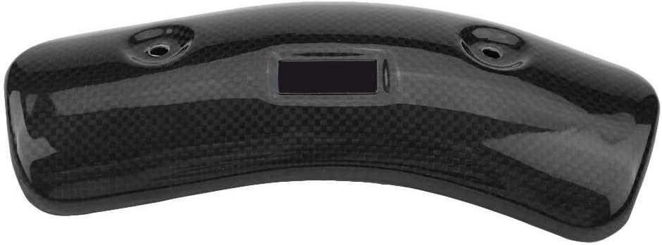 Protector de escape tama/ño : 11CM Cubierta de tubo de escape de motocicleta Cubierta de calor de tubo medio Protector de tal/ón